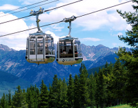 Vail Mountain Gondolas in Vail Village, CO