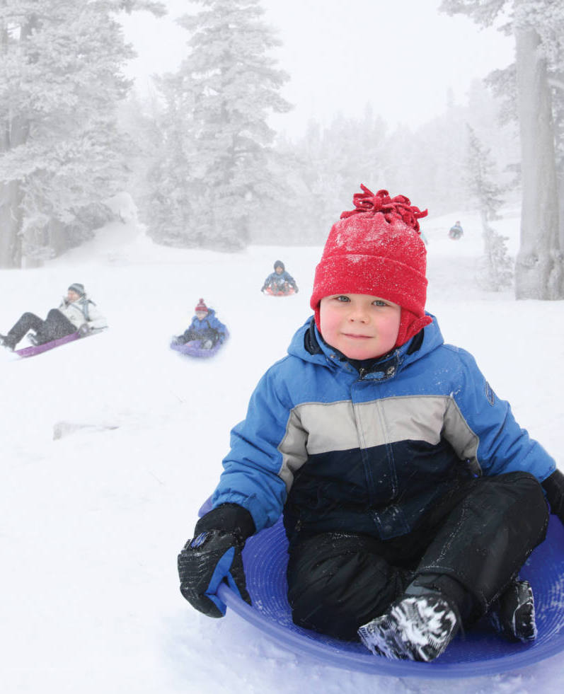 Kids Sledding Tubing In Summit County What To Do - The best sledding hills in north america