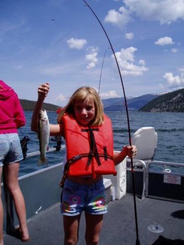 Big ed 39 s fishing venture charter fishing on lake dillon for Rent fishing gear