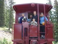 Leadville CO. & Southern Railroad Coupon