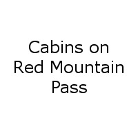 Cabins on Red Mountain Pass