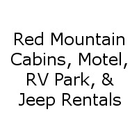 Red Mountain Cabins, Motel, RV Park, & Jeep Rentals