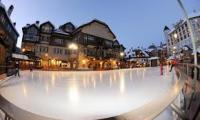 Alderhof Ice Rink in Lionshead, CO